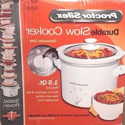 1 5 quart round crock pot slow