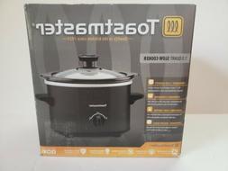 Toastmaster 1.5 quart slow cooker/ crock pot charcoal gray E