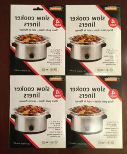 """16 Toastabags Crock Pot Slow Cooker Liners bags 11.8"""" x 21"""