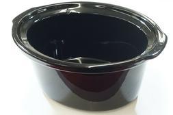 162649000000 - Black Stoneware, 4 Qt, for Crock-Pot SCCPVP40