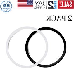 2 Pack Silicone Sealing Ring for Instant Pot 5 6 Qt Replacem