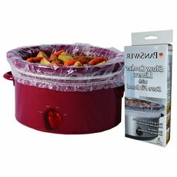PanSaver 24 Pack Disposable Slow Cooker Liners Crockpot Line