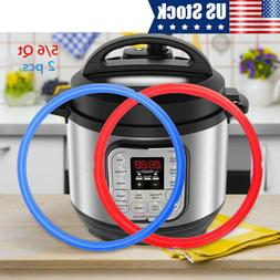 2pcs/pack Silicone Sealing Ring 5/6QT For Instant Pot Electr