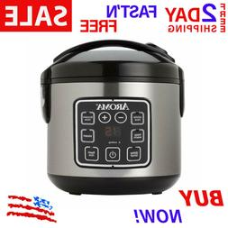 2Qt Pressure Cooker Slow.Mini Crock Pot Instant Small Aroma