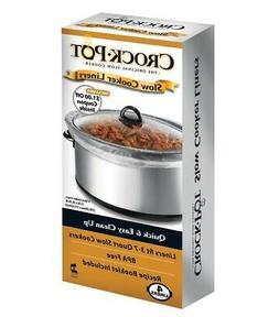 Crock Pot  3-7 qt. Clear  Plastic  Slow Cooker Liner