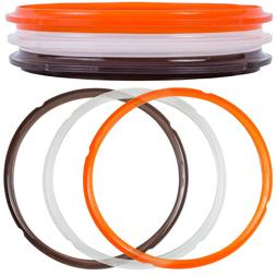 3 Pcs Silicone Sealing Ring Replacement for Instant Pot 5 Qt