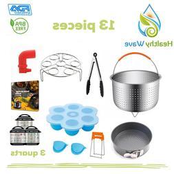 3 Quart Pressure Cooker Accessories for Instant Pot 3 QT, 13