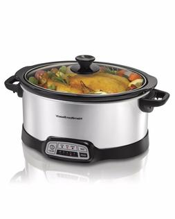 Hamilton Beach 33473 Programmable Slow Cooker 7-Quart Crock