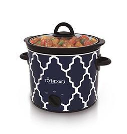 Crock-Pot 4-Quart Manual Slow Cooker, SCR400-BLT-WM1