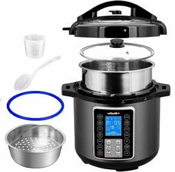 6-QT Ultra-Pot Cooker Crock 10-in-1 Smart Cook 2 Dishes at O
