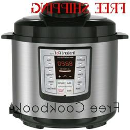 Instant Pot 6 Quart Programmable Pressure Cooker & Crock Pot