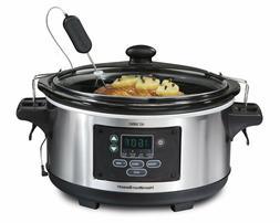 Hamilton Beach 6-Quart Programmable Slow Cooker 33969A Set F