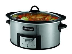 Crock-Pot 6-Quart Slow Cooker with Stovetop-Safe Cooking Pot