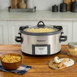 7 Quart CrockPot Slow Cooker Cook & Carry Digital Countdown