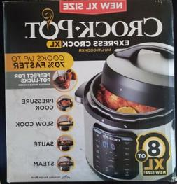 Crock-Pot 8-Quart Multi-Use XL Express Crock Programmable Sl