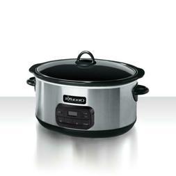 Crock-Pot 8-Quart Programmable Slow Cooker, SCCPVZ800-S W