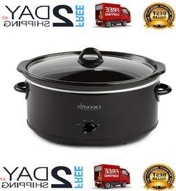 8Quart Manual Slow Cooker Extra Large Crock-Pot Kitchen Heal
