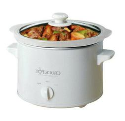 Crock-Pot 5025-WG-NP 2.5QT Slow Cooker, White
