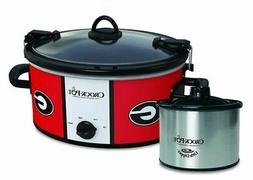Crock-Pot NCAA Cook and Carry Slow Cooker, 6 Qt.