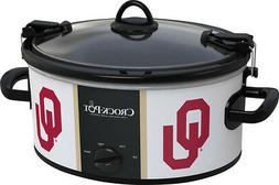Crock-pot - Cook And Carry University Of Oklahoma 6-qt. Slow