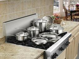 Cuisinart Stainless Steel Cookware Set Kitchen Pots And Pans
