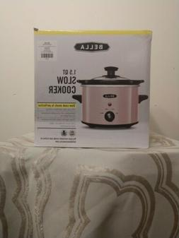 Bella Pink 1.5 Q Slow Cooker Crock Pot