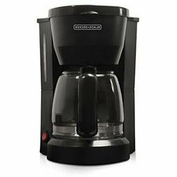 Black & Decker DCM600B 5-Cup Coffeemaker Black