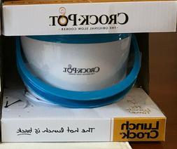 Blue Crock-Pot SCCPLC201-G Portable Lunch Crock Slow Cooker