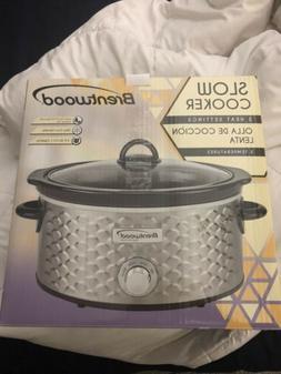 Brentwood Appliances Sc-140S 4.5-Quart Slow Cooker Crock Pot