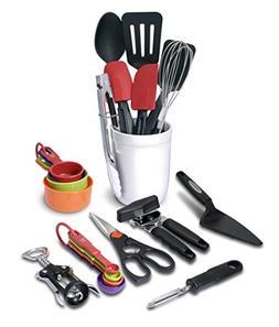 Farberware 21 Piece Classic Tool and Gadget Crock Set
