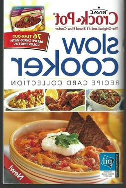 "cookbook Rival Crock Pot brand ""Slow Cooker Recipe Card Coll"