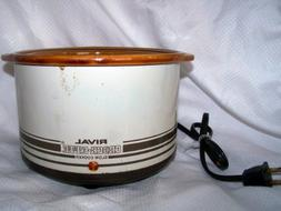 Crock Ette Stoneware Slow Cooker 1 Quart