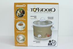 Crock-Pot 2.5-Quart Manual Slow Cooker SCR250-Pump