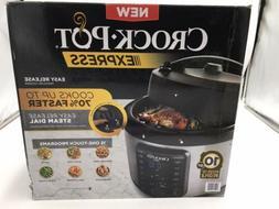 Crock-Pot 2097588 10-Qt. Express Crock Multi-Cooker with Eas