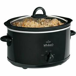 New Crock-Pot Manual Slow Cooker 4 Quart Cooking Chef Crock