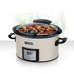 Crock-Pot 4qt Lift & Serve Slow Cooker Programmable - Eggshe