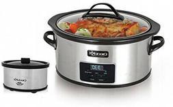 Crock-Pot 6 Qt. Programmable Slow Cooker With Little Dipper