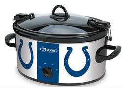 Crock-Pot 6 Quart NFL Colts Cook Carry Slow Cooker Kitchen A