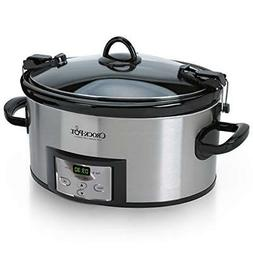 Crock-Pot 6-Quart Programmable Cook & Carry Slow Cooker with