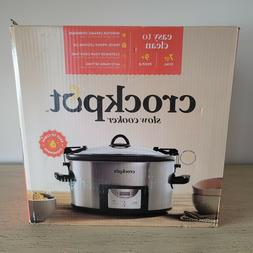 Crock-Pot 7-Quart Easy Clean Slow Cooker with Locking Lid
