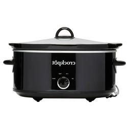 Crock-Pot® 7-Quart Manual Slow Cooker, Black