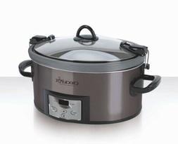 Crock Pot 7qt Cook & Carry Programmable Slow Cooker w. Easy