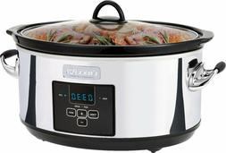 Crock-Pot - 7qt Digital Slow Cooker - Platinum