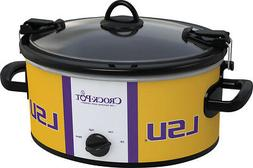 Crock-Pot® - Cook and Carry Louisiana State University 6-Qt