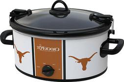 Crock-Pot - Cook and Carry University of Texas 6-Qt. Slow Co