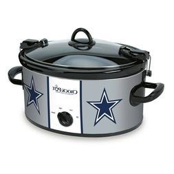 Crock-Pot Dallas Cowboys NFL 6-Quart Cook & Carry Slow Cooke