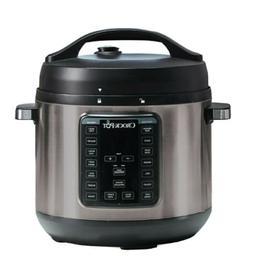 Crock-Pot Express Crock XL 8-Quart Pressure Cooker Stainless