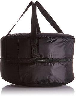 CROCK-POT Insulated Black Travel Bag 4 - 7-Quart Capacity Ta