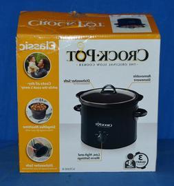Crock-Pot Manual Slow Cooker, 3 Quart Scr300-B