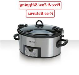 crock pot programmable cook and carry 7